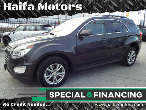 2015 Chevrolet Equinox for sale at Haifa Motors in Philadelphia PA