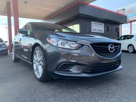 2014 Mazda MAZDA6 for sale at JQ Motorsports in Tucson AZ