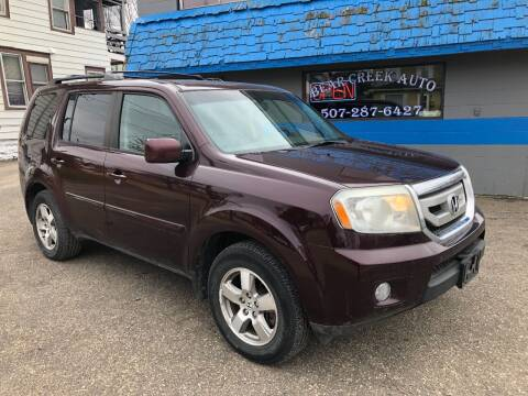 2010 Honda Pilot for sale at BEAR CREEK AUTO SALES in Rochester MN
