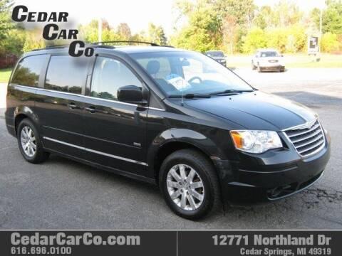 2008 Chrysler Town and Country for sale at Cedar Car Co in Cedar Springs MI