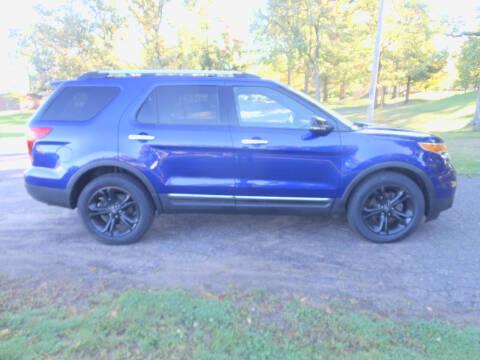 2013 Ford Explorer for sale at DANCA'S KAR KORRAL INC in Turtle Lake WI