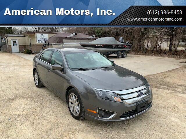 2012 Ford Fusion for sale at American Motors, Inc. in Farmington MN