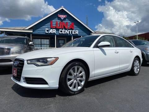 2014 Audi A6 for sale at LUNA CAR CENTER in San Antonio TX