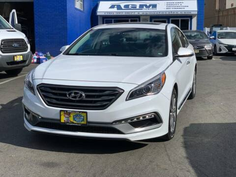 2017 Hyundai Sonata for sale at AGM AUTO SALES in Malden MA