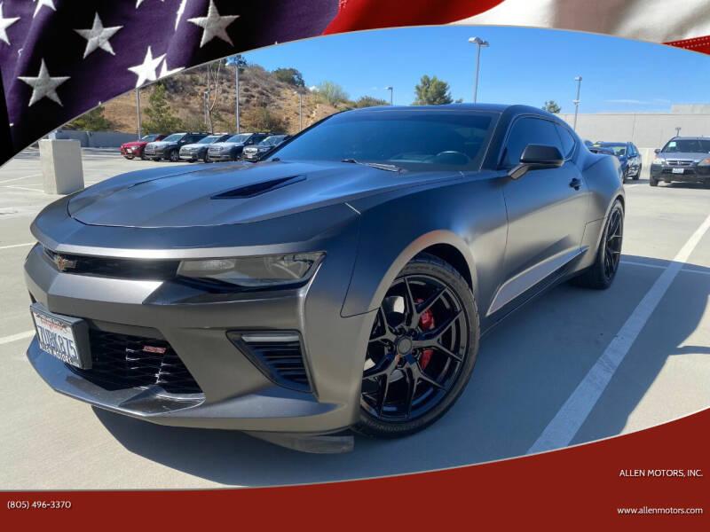 2016 Chevrolet Camaro for sale at Allen Motors, Inc. in Thousand Oaks CA