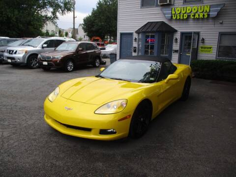 2008 Chevrolet Corvette for sale at Loudoun Used Cars in Leesburg VA