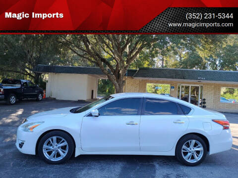 2014 Nissan Altima for sale at Magic Imports in Melrose FL