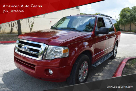 2009 Ford Expedition for sale at American Auto Center in Austin TX