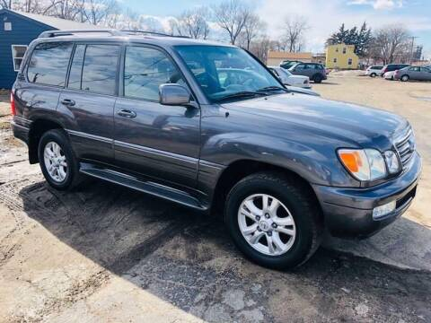 2005 Lexus LX 470 for sale at Central Iowa Auto Sales in Des Moines IA