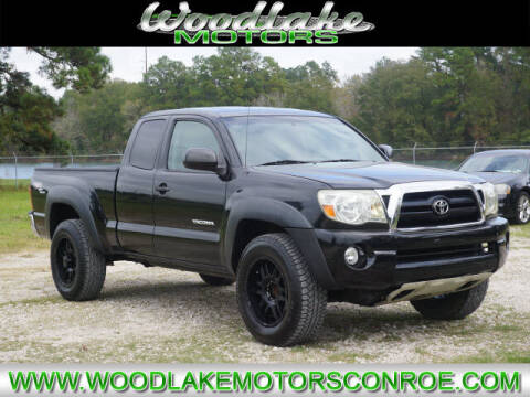 2008 Toyota Tacoma for sale at WOODLAKE MOTORS in Conroe TX