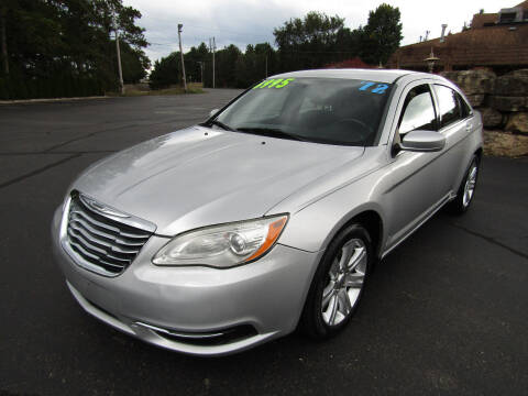 2012 Chrysler 200 for sale at Mike Federwitz Autosports, Inc. in Wisconsin Rapids WI