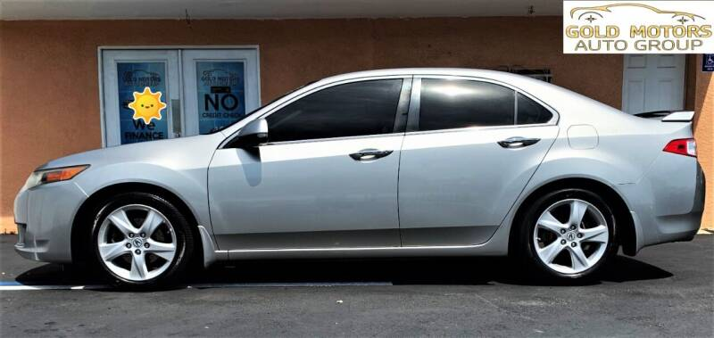 2009 Acura TSX for sale at Gold Motors Auto Group Inc in Tampa FL