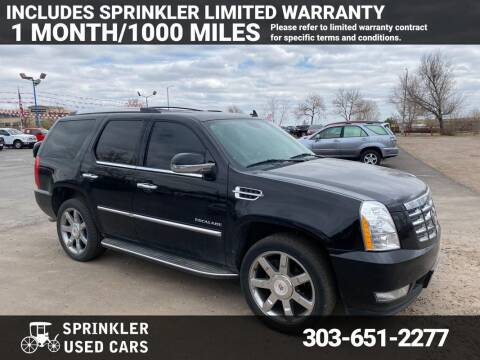 2014 Cadillac Escalade for sale at Sprinkler Used Cars in Longmont CO