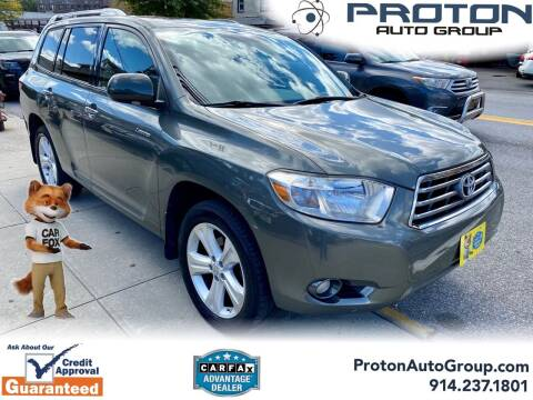 2010 Toyota Highlander for sale at Proton Auto Group in Yonkers NY