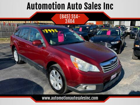 2011 Subaru Outback for sale at Automotion Auto Sales Inc in Kingston NY