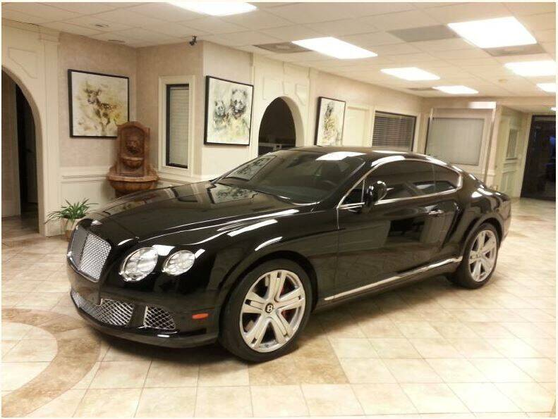 2012 Bentley Continental for sale at SMZ Auto Import in Roswell GA
