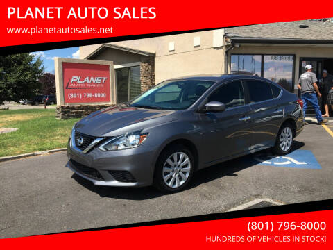 2017 Nissan Sentra for sale at PLANET AUTO SALES in Lindon UT