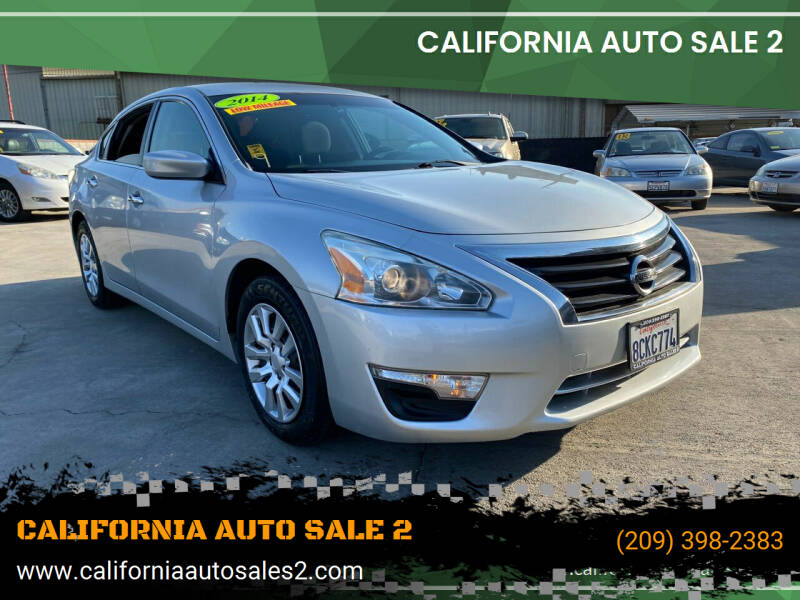 2014 Nissan Altima for sale at CALIFORNIA AUTO SALE 2 in Livingston CA