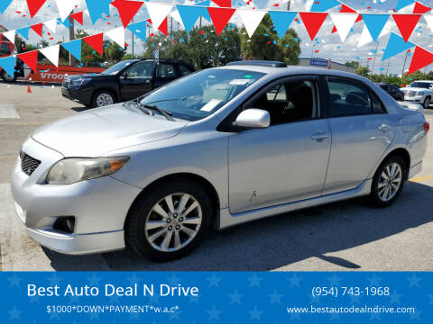 2010 Toyota Corolla for sale at Best Auto Deal N Drive in Hollywood FL