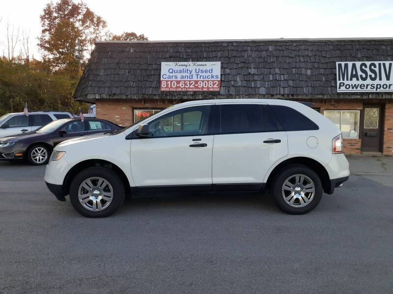 2010 Ford Edge for sale at Kenny's Korner in Hartland MI