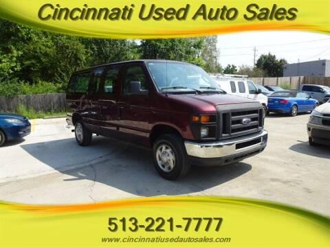 2010 Ford E-Series Wagon for sale at Cincinnati Used Auto Sales in Cincinnati OH