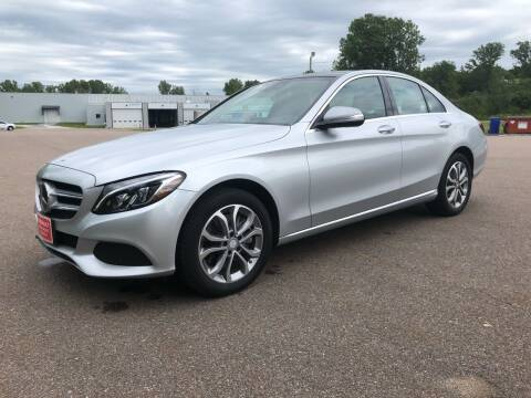 2015 Mercedes-Benz C-Class for sale at Dussault Auto Sales in Saint Albans VT