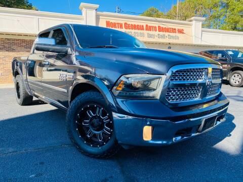 2013 RAM Ram Pickup 1500 for sale at North Georgia Auto Brokers in Snellville GA