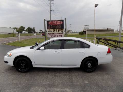 2014 Chevrolet Impala Limited for sale at MYLENBUSCH AUTO SOURCE in O'Fallon MO