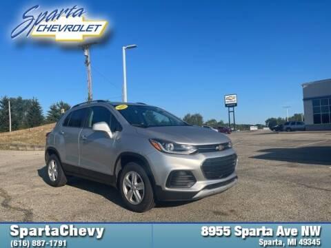 2017 Chevrolet Trax for sale at Sparta Chevrolet in Sparta MI