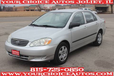 2004 Toyota Corolla for sale at Your Choice Autos - Joliet in Joliet IL
