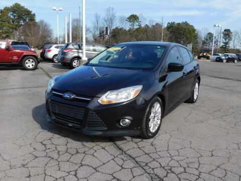 2012 Ford Focus for sale at Paniagua Auto Mall in Dalton GA