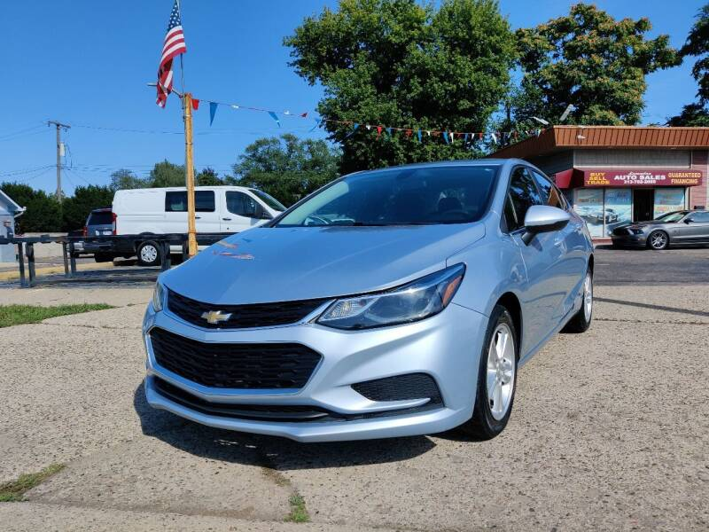 2018 Chevrolet Cruze for sale at Lamarina Auto Sales in Dearborn Heights MI
