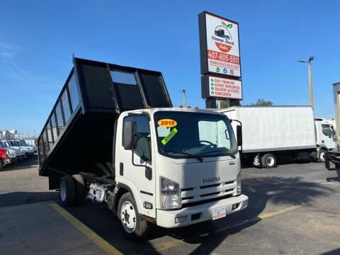 2015 Isuzu NQR for sale at Orange Truck Sales in Orlando FL