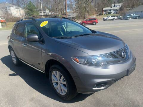 2013 Nissan Murano for sale at QUINN'S AUTOMOTIVE in Leominster MA