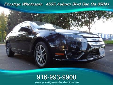 2010 Ford Fusion for sale at Prestige Wholesale in Sacramento CA