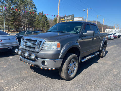 2007 Ford F-150 for sale at Affordable Auto Sales in Webster WI