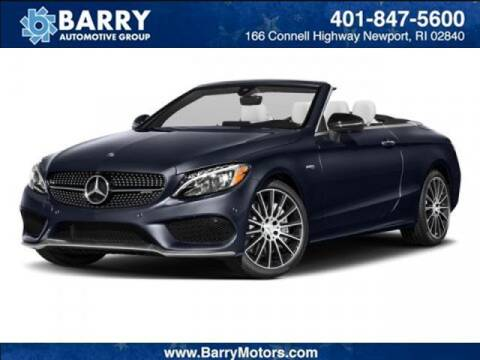 2018 Mercedes-Benz C-Class for sale at BARRYS Auto Group Inc in Newport RI