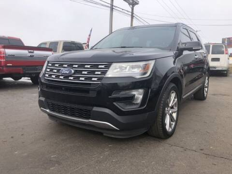 2016 Ford Explorer for sale at Instant Auto Sales in Chillicothe OH