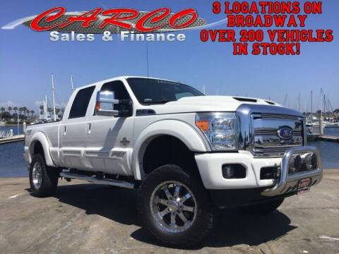 2016 Ford F-250 Super Duty for sale at CARCO SALES & FINANCE #3 in Chula Vista CA