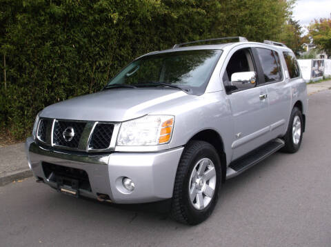 2005 Nissan Armada for sale at Eastside Motor Company in Kirkland WA
