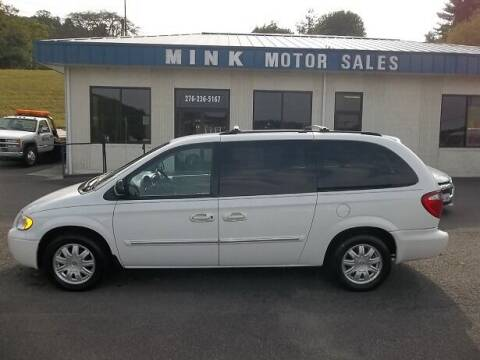 2006 Chrysler Town and Country for sale at MINK MOTOR SALES INC in Galax VA