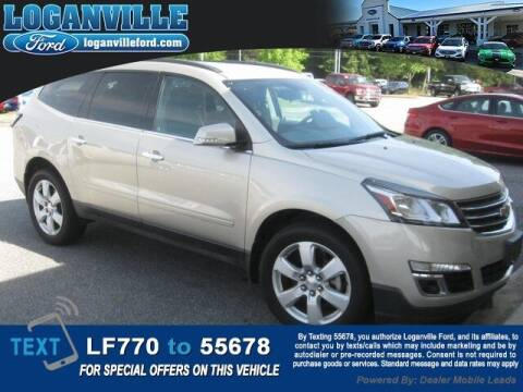 2017 Chevrolet Traverse for sale at Loganville Quick Lane and Tire Center in Loganville GA