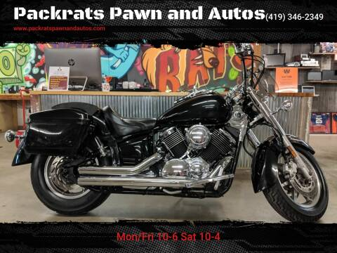 2008 Yamaha V-Star for sale at Packrats Pawn and Autos in Defiance OH