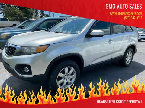 2011 Kia Sorento for sale at GMG AUTO SALES in Scranton PA