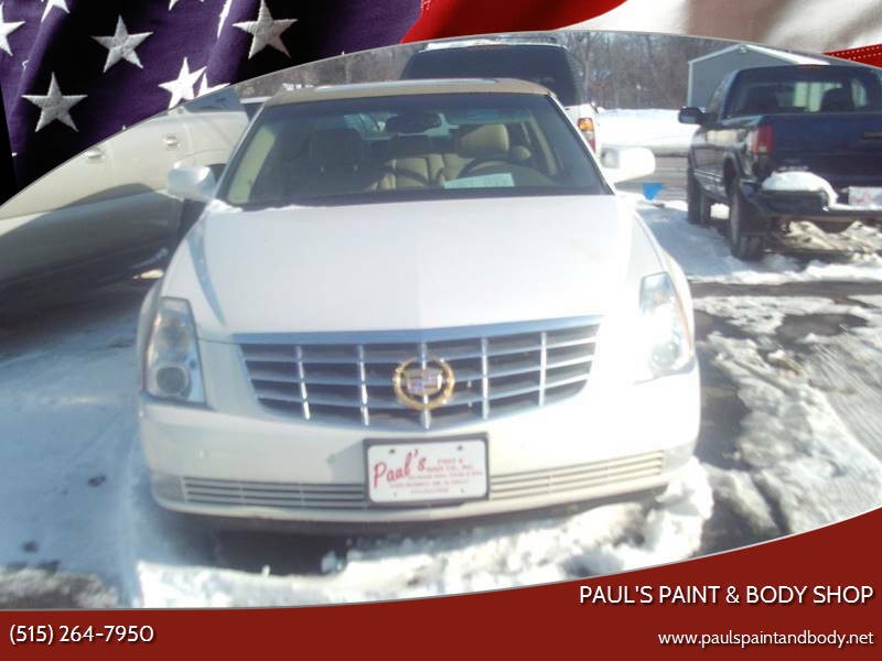 2006 Cadillac DTS for sale at PAUL'S PAINT & BODY SHOP in Des Moines IA