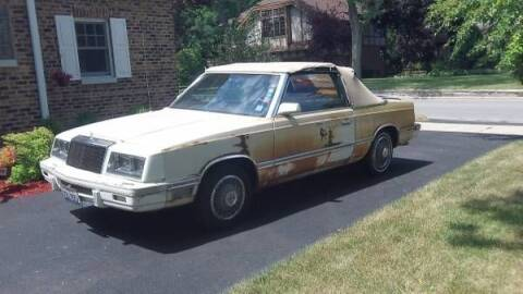 1982 Chrysler Le Baron for sale at Classic Car Deals in Cadillac MI