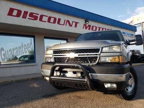 2007 Chevrolet Silverado 2500HD Classic for sale at Discount Motors in Pueblo CO
