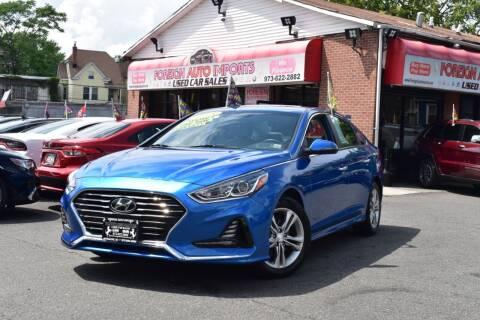 2018 Hyundai Sonata for sale at Foreign Auto Imports in Irvington NJ