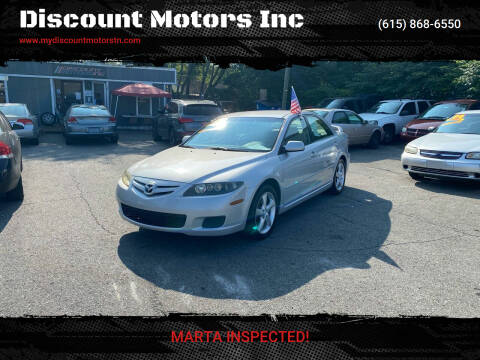 2007 Mazda MAZDA6 for sale at Discount Motors Inc in Madison TN