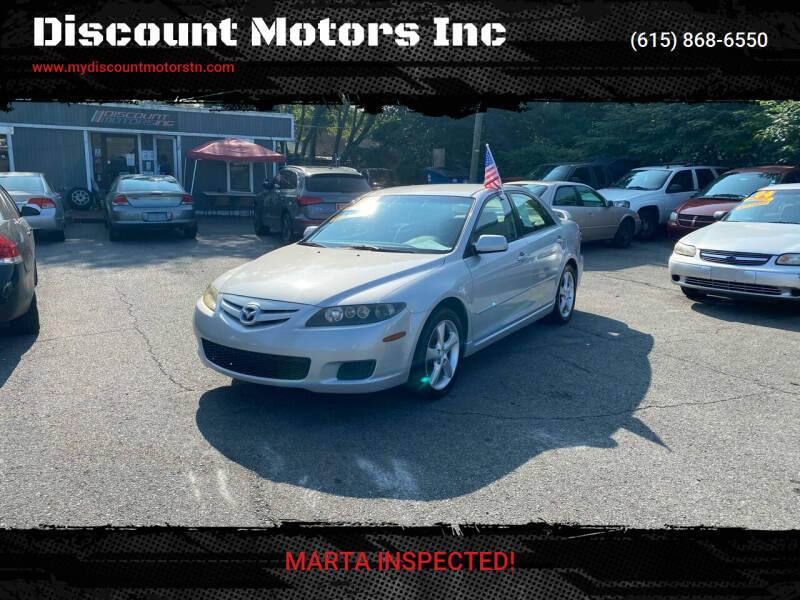 2007 Mazda MAZDA6 for sale at Discount Motors Inc in Madison TN